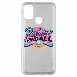 Чехол для Samsung M30s Retro pinball