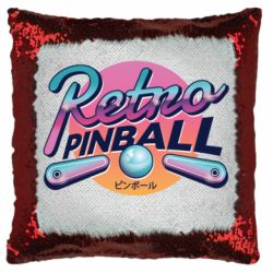 Подушка-хамелеон Retro pinball