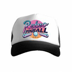 Детская кепка-тракер Retro pinball