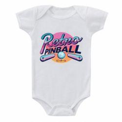 Детский бодик Retro pinball