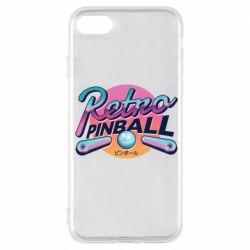 Чехол для iPhone 7 Retro pinball