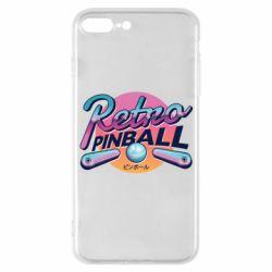 Чехол для iPhone 7 Plus Retro pinball