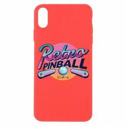 Чехол для iPhone X/Xs Retro pinball