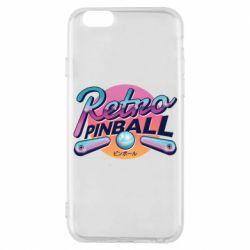 Чехол для iPhone 6/6S Retro pinball