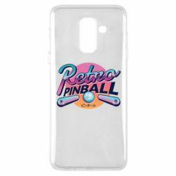 Чехол для Samsung A6+ 2018 Retro pinball