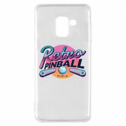 Чехол для Samsung A8 2018 Retro pinball