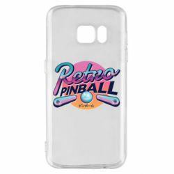 Чехол для Samsung S7 Retro pinball
