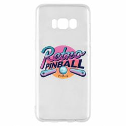 Чехол для Samsung S8 Retro pinball