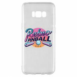 Чехол для Samsung S8+ Retro pinball