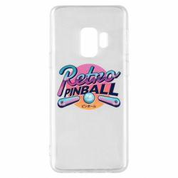 Чехол для Samsung S9 Retro pinball