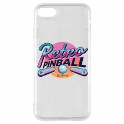 Чехол для iPhone 8 Retro pinball