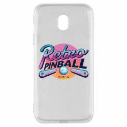 Чехол для Samsung J3 2017 Retro pinball