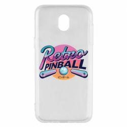 Чехол для Samsung J5 2017 Retro pinball