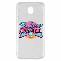 Чехол для Samsung J7 2017 Retro pinball