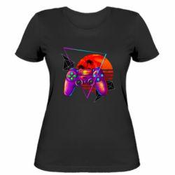 Женская футболка Retro wave