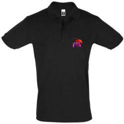Мужская футболка поло Retro wave