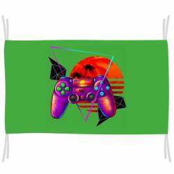 Флаг Retro wave