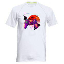 Мужская спортивная футболка Retro wave