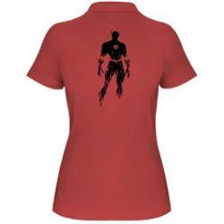 Женская футболка поло Reverse flash - FatLine