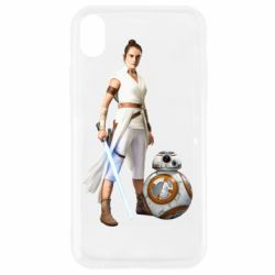 Чехол для iPhone XR Rey BB 8