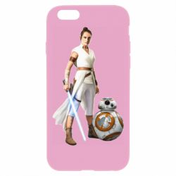 Чехол для iPhone 6 Plus/6S Plus Rey BB 8
