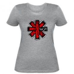 Женская футболка RHCP sublim - FatLine