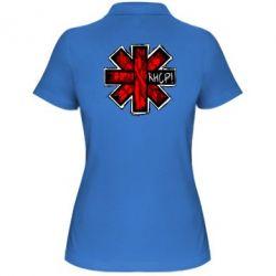 Женская футболка поло RHCP sublim - FatLine