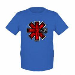 Детская футболка RHCP sublim