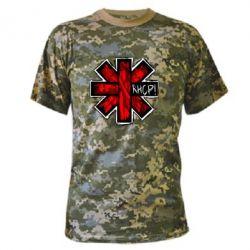 Камуфляжная футболка RHCP sublim - FatLine
