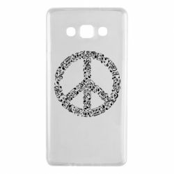 Чехол для Samsung A7 2015 Rhyme In Peace - FatLine