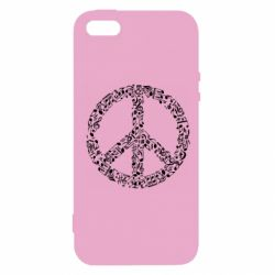 Чехол для iPhone5/5S/SE Rhyme In Peace - FatLine