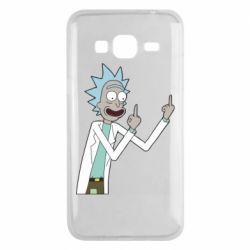 Чохол для Samsung J3 2016 Rick and fuck vector