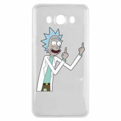 Чохол для Samsung J7 2016 Rick and fuck vector