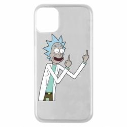 Чохол для iPhone 11 Pro Rick and fuck vector