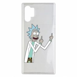Чохол для Samsung Note 10 Plus Rick and fuck vector