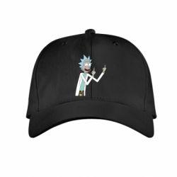 Дитяча кепка Rick and fuck vector