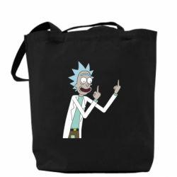 Сумка Rick and fuck vector