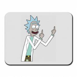 Килимок для миші Rick and fuck vector