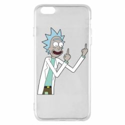 Чохол для iPhone 6 Plus/6S Plus Rick and fuck vector