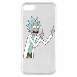 Чохол для iPhone 7 Rick and fuck vector