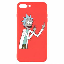 Чохол для iPhone 7 Plus Rick and fuck vector