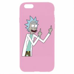 Чохол для iPhone 6/6S Rick and fuck vector