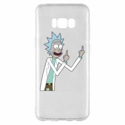 Чохол для Samsung S8+ Rick and fuck vector