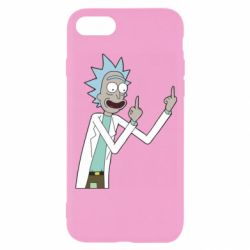 Чохол для iPhone 8 Rick and fuck vector
