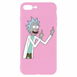 Чохол для iPhone 8 Plus Rick and fuck vector