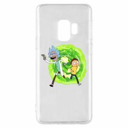 Чохол для Samsung S9 Rick and Morty art