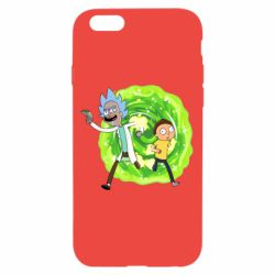 Чохол для iPhone 6/6S Rick and Morty art