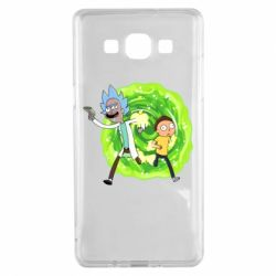 Чохол для Samsung A5 2015 Rick and Morty art