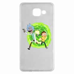 Чохол для Samsung A5 2016 Rick and Morty art