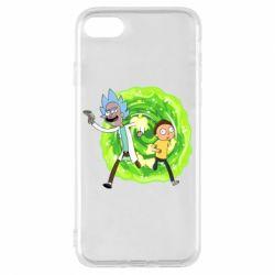 Чохол для iPhone 8 Rick and Morty art